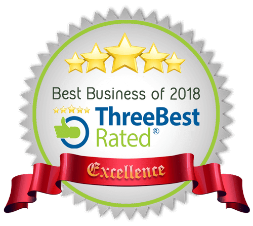 Three Best Rated Top Three Best Massage Therapists in New York City 2018 awarded to Bodyworks DW Advanced Massage Therapy NYC