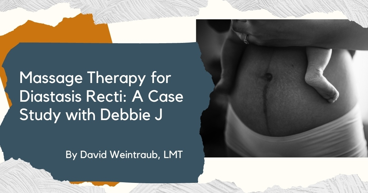 massage for diastasis recti