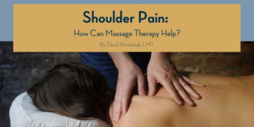Shoulder Pain: What's Causing Yours and How Massage Therapy can Help