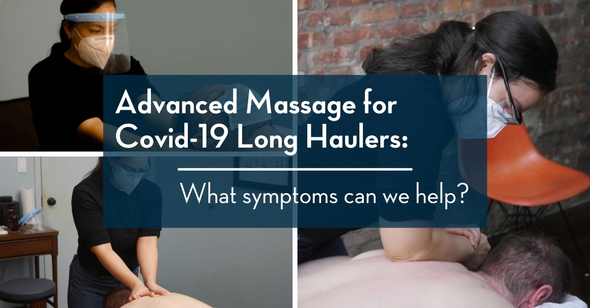 massage for covid 19 long haulers